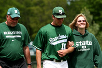 NCAA BASEBALL: Indiana at Michigan State